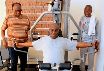 PHOTOS: Former Vice President, Atiku Abubakar Set For Arsenal Transfer