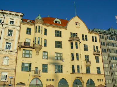 Imagini Finlanda: cladire Art Nouveau Helsinki