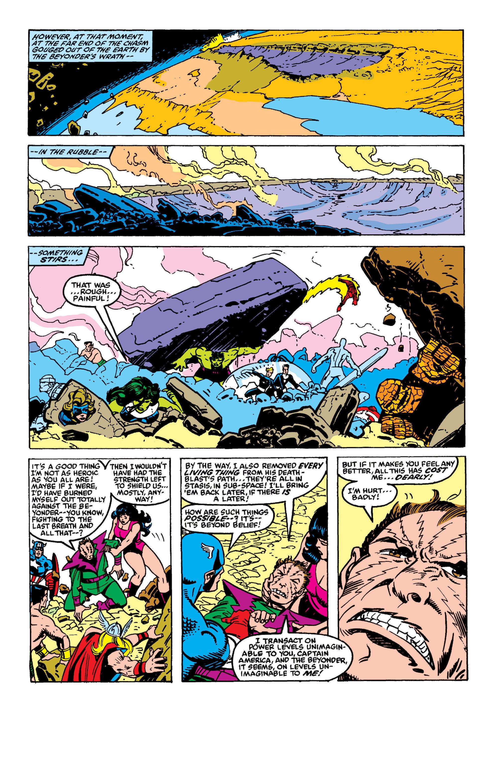 Read online Secret Wars II comic -  Issue #9 - 33