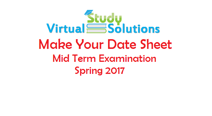 midterm papers of virtual university