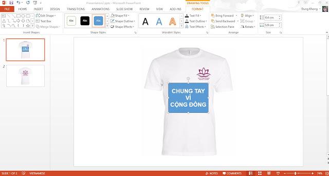 bài viết hướng dẫn cách thiết kế áo lớp online