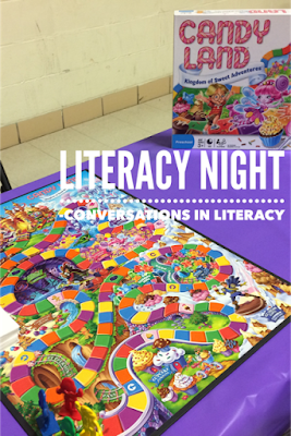 Family Literacy Game Night