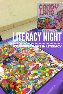 Family Literacy Game Night
