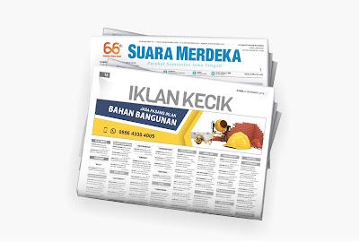 iklan bahan bangunan koran suara merdeka