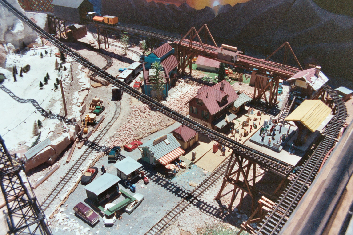 Toys And Stuff Train Time 1995 Henderson Outdoor Garden Railway Sensors Thursday August 27 2015