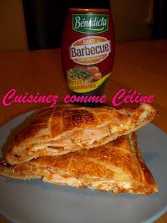 calzone jambon barbecue