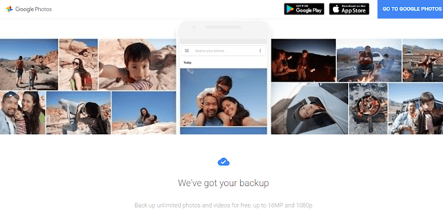 Google Photos - free image hosting