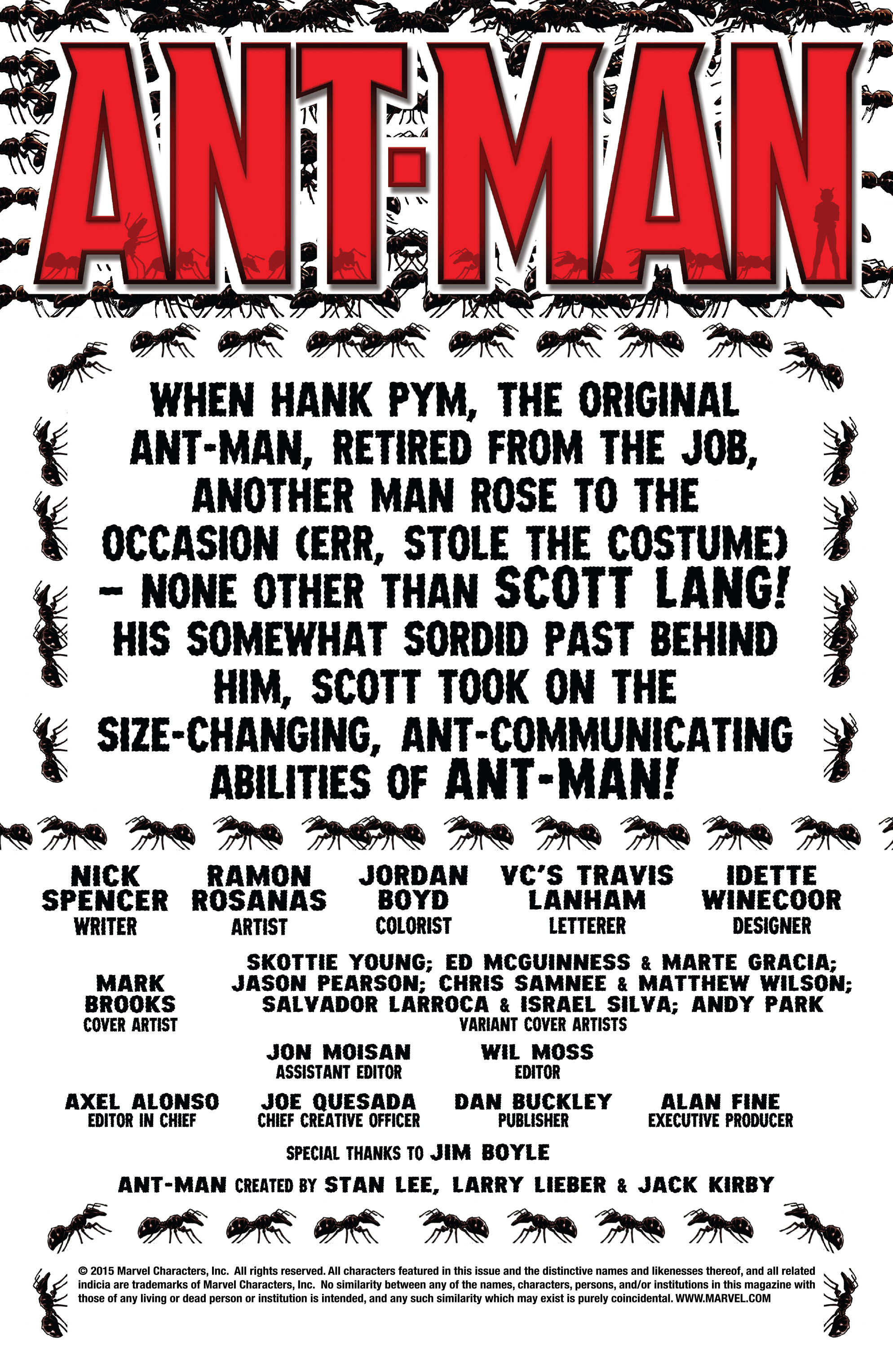 Read online Ant-Man comic -  Issue #1 - 2
