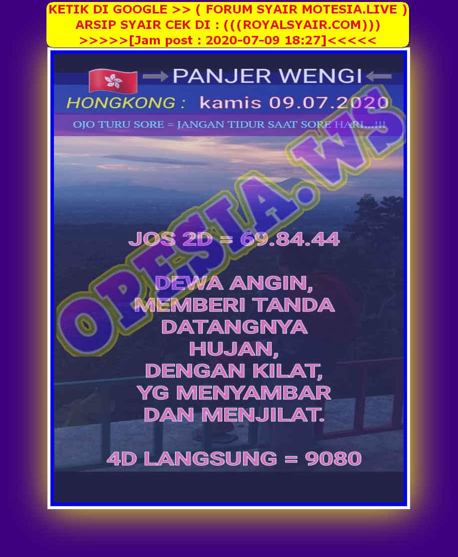 Kode syair Hongkong Kamis 9 Juli 2020 35