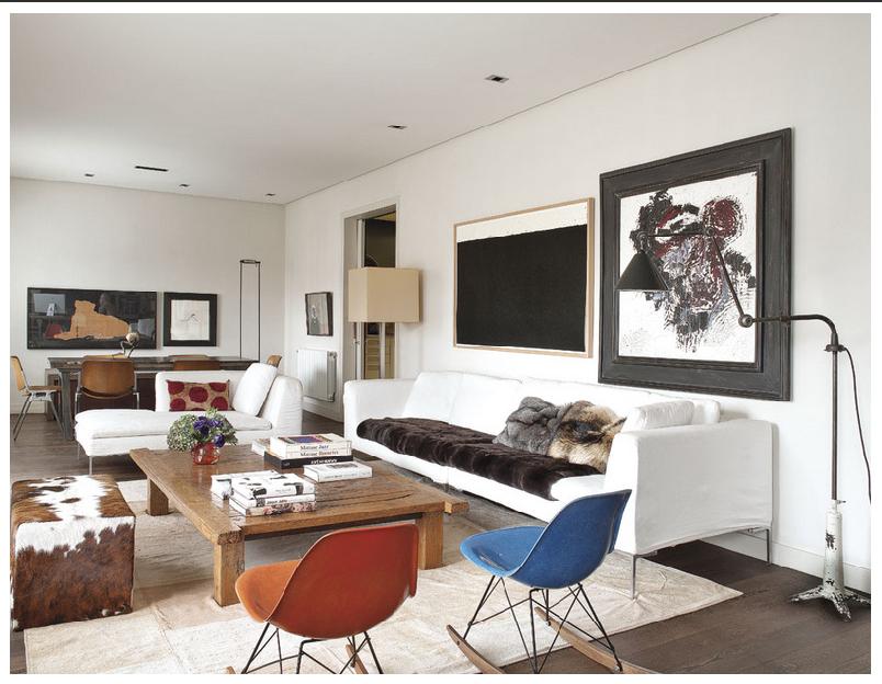El blog de demarques una brillante y espaciosa vivienda - Muebles modernos clasicos ...