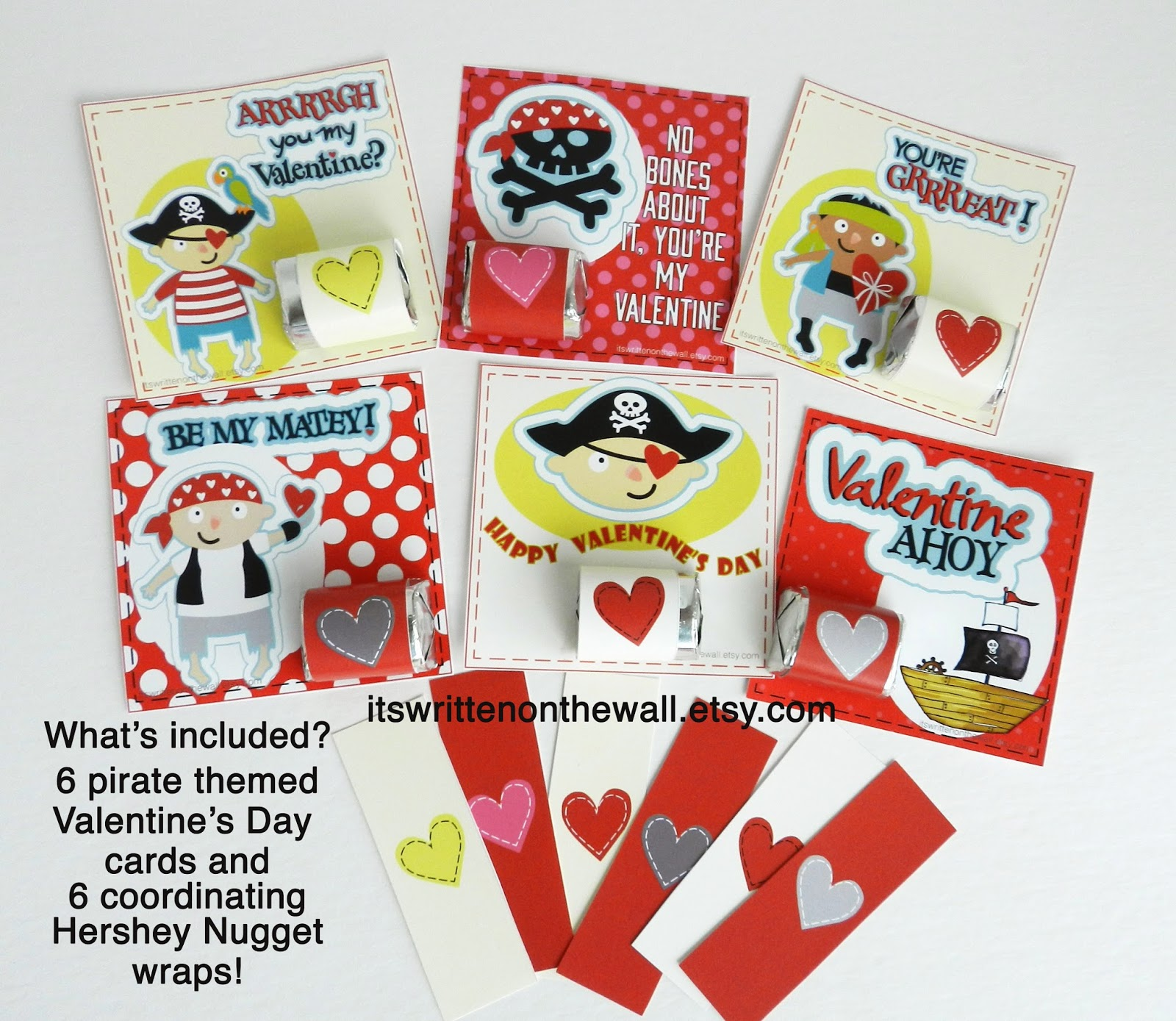 Its Written on the Wall Valentines Day Cards and Wrap for – Boys Valentines Cards