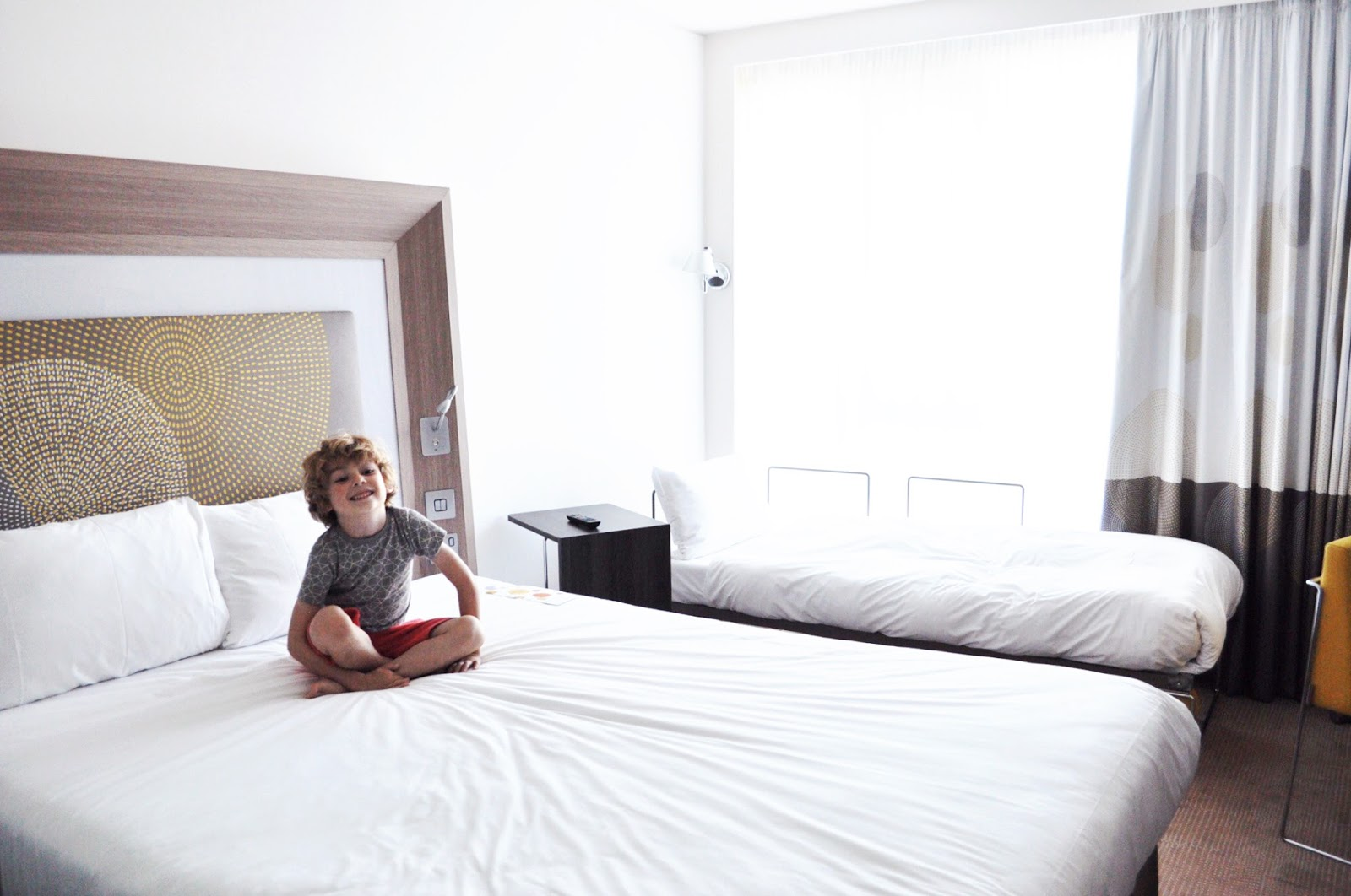 24 hours in London, chic hotel, Novotel blackfriars london, travel with kids