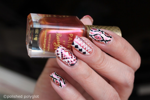 Nail art -festival nails -