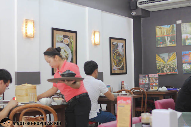 Interior of Tien Ma in Makati City