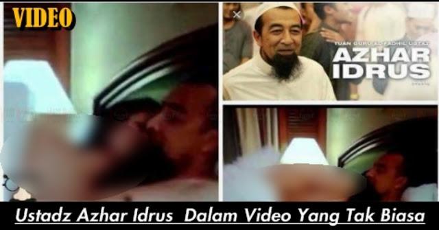HEBOH Video Tak Senonoh Ustaz Azhar Idrus