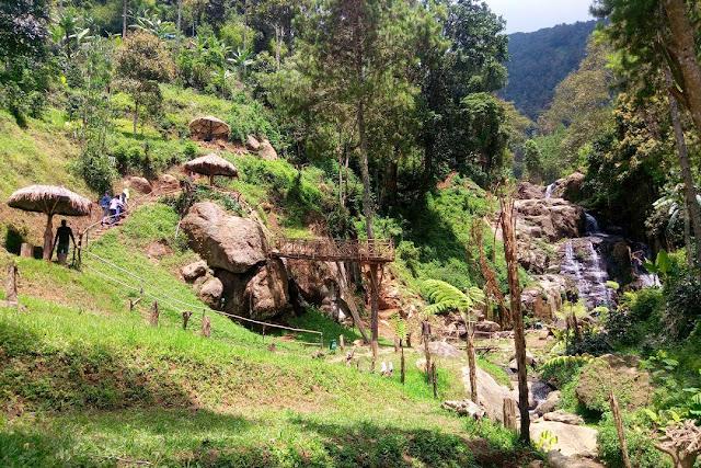 Curug Bellarosa Lembang - Bandung