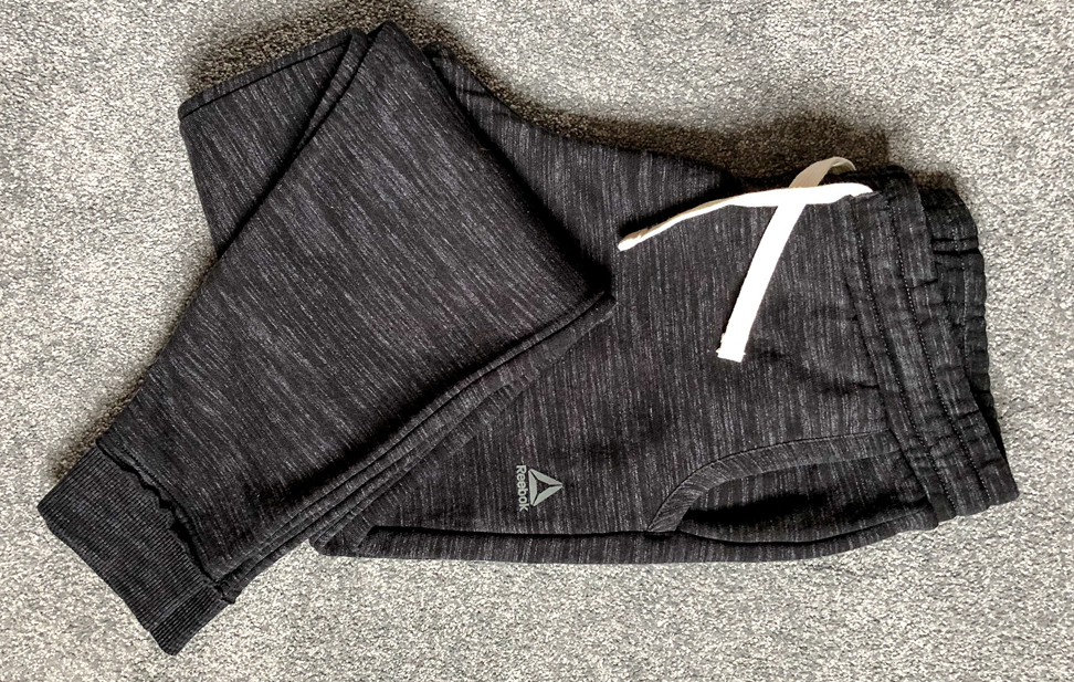 Dark Grey Reebok Marble Pants