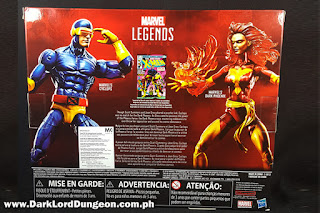 Marvel Legends Dark Phoenix and Cyclops box