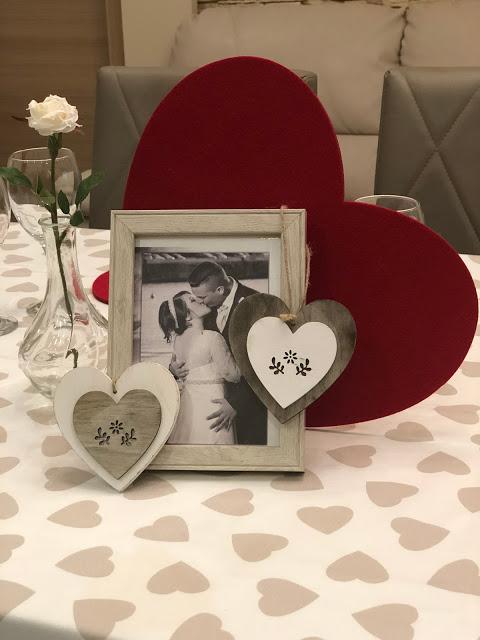Festeggiare San Valentino a casa
