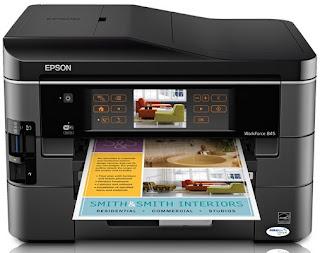Epson WorkForce WF-845 Printer Driver Download