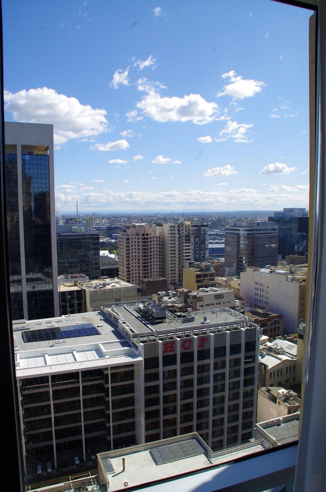 View from Swissotel Sydney