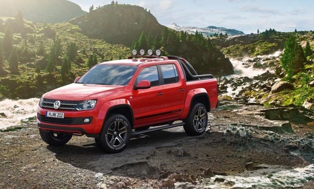 2017 VW Amarok USA,  Concept, Design, Interior