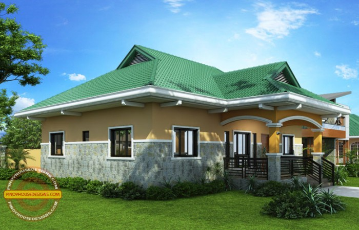 Free Bungalow House Designs And Floor Plans With 2
