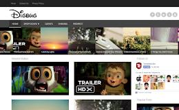 DigBug Video blogger template