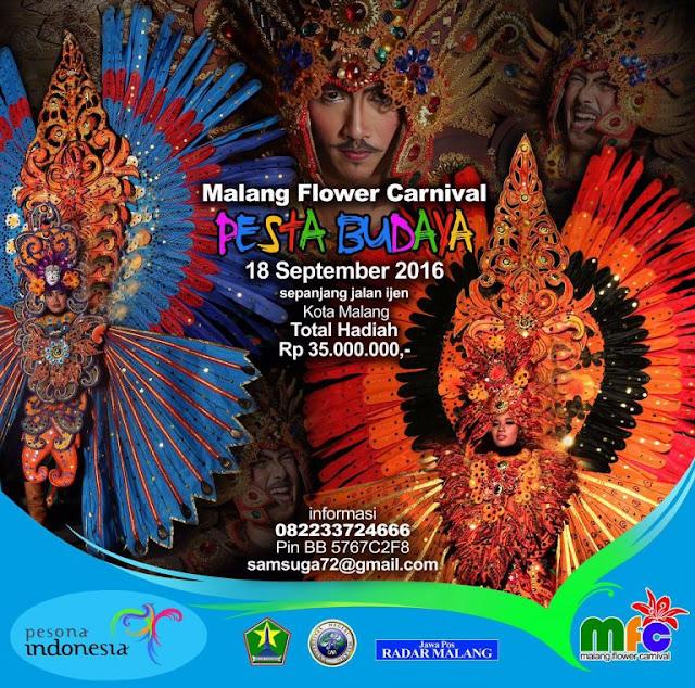 foto jadwal malang flower carnival 2016