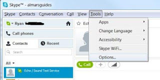 Push to talk Skype