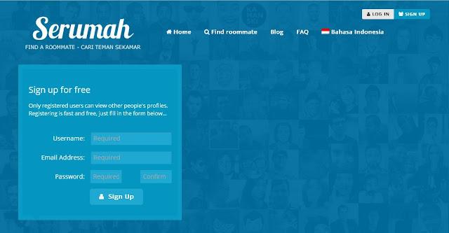 website pencari teman kost, cari teman kost, info kost murah, harga sewa kost, website pencari teman serumah
