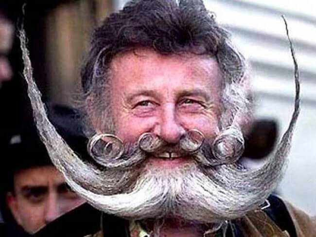 Tipos de barbas esquisitas