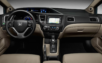honda civic interior widescreen hd wallpaper