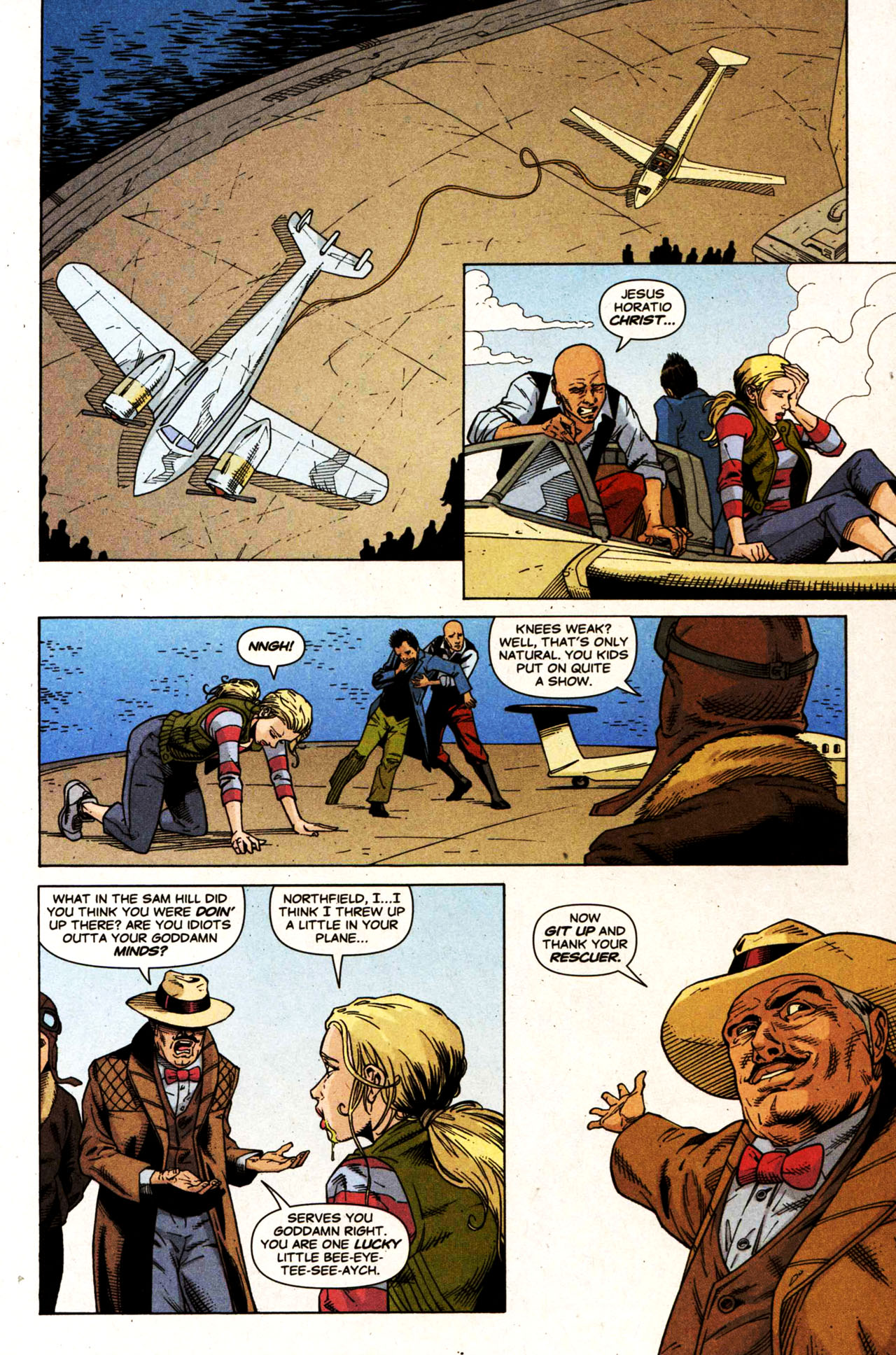 Read online Air comic -  Issue #5 - 23