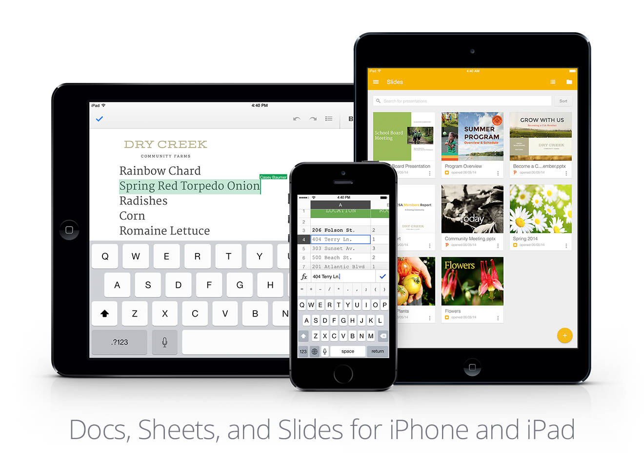Getting things done: Office editing on iOS