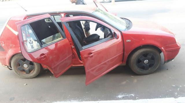 Polícia Rodoviária Federal intercepta carro com drogas em Ji-Paraná