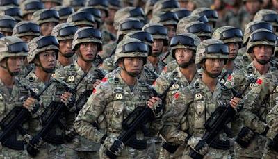 Jumlah Tentara Tiongkok Luar Biasa