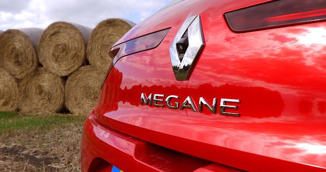 Renault Megane reversing camera
