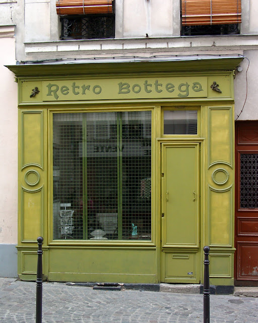 Retro Bottega, rue Saint-Blaise, Quartier de Charonne, 20th arrondissement, Paris