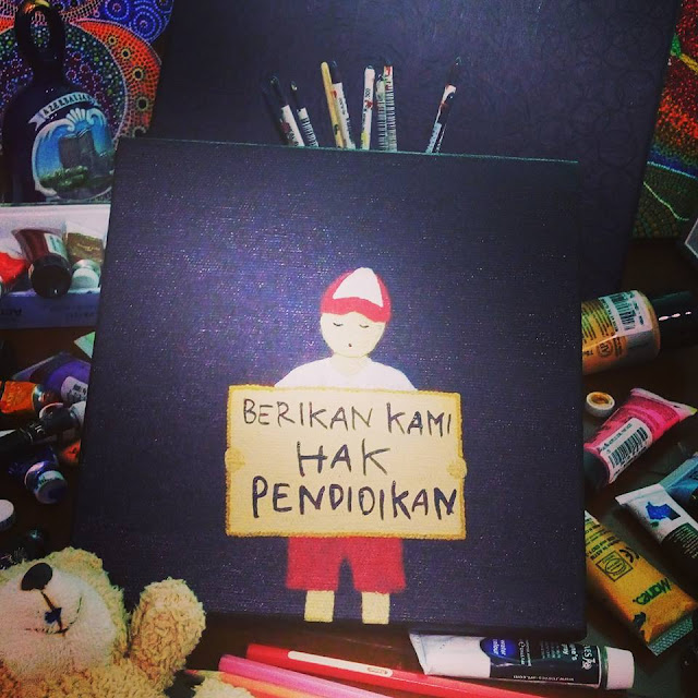 Pengalaman Menjadi Perupa Tamu di Pameran Lukisan Andreas Iswinarto