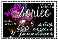 ¡¡¡ SÚPER SORTEO !!!  » 5 AÑOS & 600 SEGUIDORES ❣
