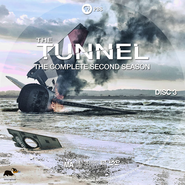The Tunnel Season 2 Disc 3 DVD Label
