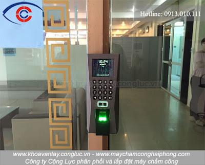 Những công trình đã được Cộng Lực hoàn thành thi công lắp đặt hệ thống kiểm soát cửa ra vào tại Hải Phòng, khách hàng có thể THAM KHẢO TẠI ĐÂY.