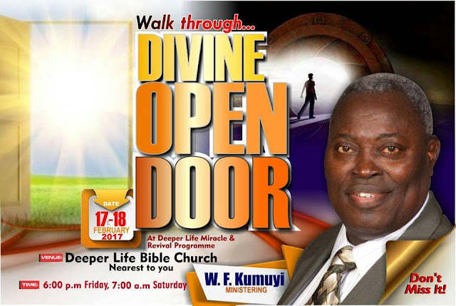 Deeper Life February 2017 Revival Programme with Pastor W.F. Kumuyi