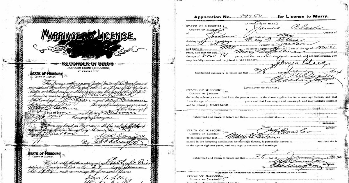Gene Notes: Wedding Wednesday - Black & Collins