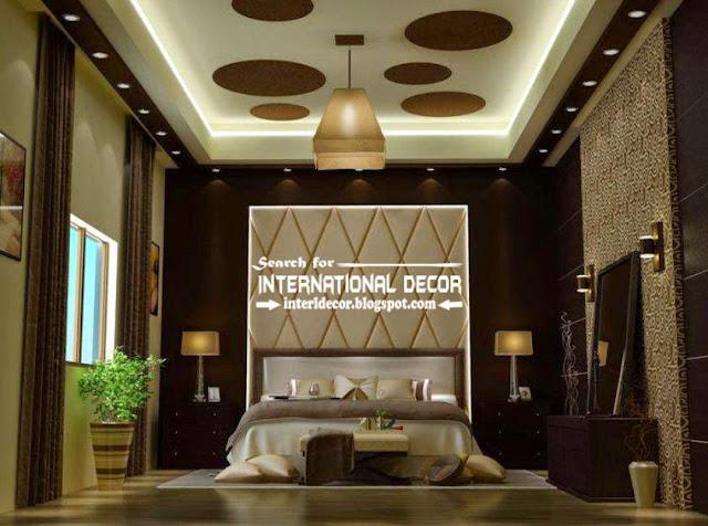 Modern pop false ceiling designs for luxury bedroom 2017, bedroom ceiling ideas