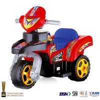 Motor Mainan Aki SHP RX2 3-Wheeler ATV S
