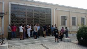 Τα μέλη της Κίνησης κατά των Πλειστηριασμών  θα συναντηθούν με την ταμία του Συλλόγου Συμβολαιογράφων Αργολίδας