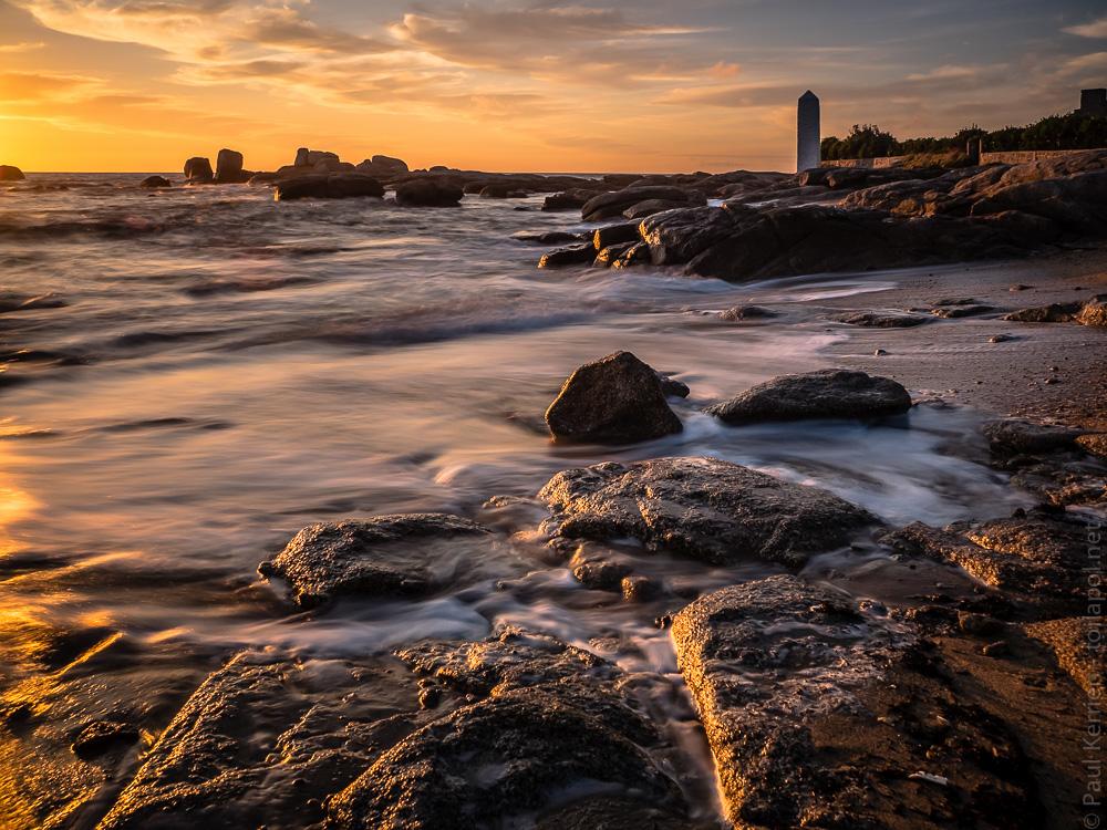 Balade photo en finist re bretagne paul kerrien mar e haute au coucher du soleil tr gunc - Palpitations le soir au coucher ...