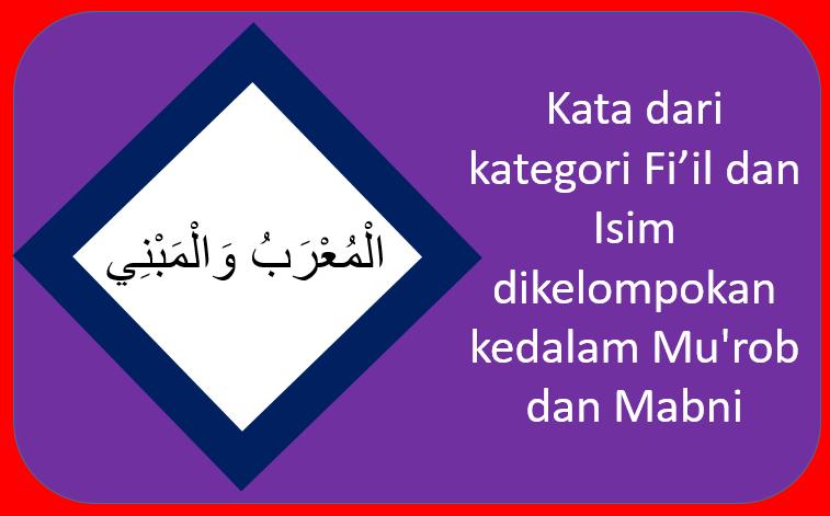 Membedakan Mu'rab dan Mabni - Alfiyyah